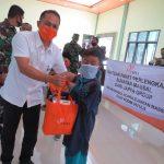 Sambut HUT ke 75 TNI Kodim 0421/LS Lakukan Sunatan Masal