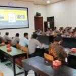 Polres Lampura Terima Kunjungan Kerja Tim Penelitian STIK/PTIK