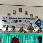 Mardiana Serap Aspirasi Masyarakat dan Dorong Pembangunan Desa di Lampura