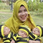 Kisah Fany Lahirkan Bayi Kembar 3 di Tanjung Bintang