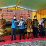 KPU Gelar Pengundian No Urut Paslon Kada Way Kanan 2020
