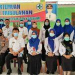 Tingkatkan Mutu Kesehatan, Kecamatan Bersama Puskemas Lampura Gelar Pertemuan Lokmin Tribulanan