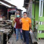 Rycko Menoza Prihatin Melihat Warga Pinggiran Kota Bandar Lampung