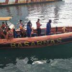 Penumpang Kapal Jatuh ke Laut Belum Ditemukan