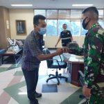 Komandan Koramil 421-10 KTB. Dampingi Komandan KODIM 0421/Lampung Selatan kunjungi PLTU Sektor Pembangkitan 3/4 Tarahan.