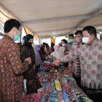 Gubernur Arinal Buka Semarak Batik Lampung dan Tanaman Hias 2020