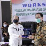 Pjs Bupati Way Kanan Hadiri Worshop Dan Monitoring Penggunaan DD Th 2020