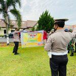 405 Personil Gabungan TNI Polri Amankan Aksi Damai Aliansi Masyarakat Lampura Bergerak