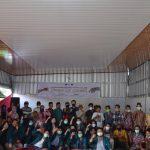 HMJ UNILA Gelar Kegiatan Charity di Desa Tanjung Agung