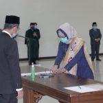 Dilantik Rektor Karomani, Ida Nurhaida Dekan Perempuan Pertama FISIP Unila