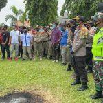 Kapolres Lampura Pimpin Pengamanan Aksi Damai Jilid 2 Aliansi Mahasiswa