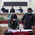 DPRD dan Pemerintah Daerah Kabupaten Tulangbawang Sepakati 11 Raperda