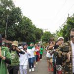 Kampung Siaga Covid-19 Pertamina Ajak Warga Tafure Senam Bersama Guna Cegah Corona