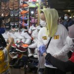 Sapa Pedagang Pasar, Rycko-Jos Serius Perhatikan Pedagang Pasar