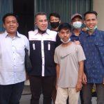 Dendi Ramadhona Siap Memfasilitasi Akses Kelegalan Organisasi pemuda pemudi pesawaran