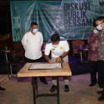 Bahas Kerusakan Lingkungan di Bandar Lampung, Eva Tidak Hadir Dalam Diskusi Bersama Paslon