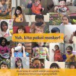 Danone SN Indonesia melalui Bebelac Ajak Masyarakat untuk Patuhi Protokol COVID 19 melalui Kampanye #PesanAnakHebat