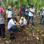Bersama Masyarakat, JBEL Tanam 700 Pohon di Pekon Teratas Kota Agung