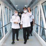 Tinjauan Arus Balik Libur Panjang Menhub Cek Penerapan Protokol Kesehatan di Pelabuhan Merak-Bakauheni dan Bandara Soekarno Hatta
