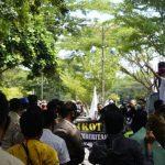 KPU Lamsel Di Demo Wartawan