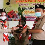 Riana Sari Arinal Buka Orientasi Kepramukaan di Pringsewu