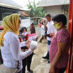 Kampanye Simpatik,Pitka Menoza Luluhkan Hati Warga sampai Aparatur Kelurahan