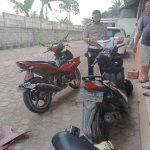 Laka Lantas Motor Vs Motor Di Natar Dua Orang Tewas