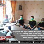 Ketua Dan Pengurus LSM Pijar Keadilan kecewa Terkait Tayangan Debat pilkada Lampung Timur