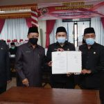 Pemkab Lampung Selatan Sampaikan Raperda APBD 2021