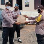 Wujud Perhatian, Kapolsek Abung Barat berikan Reward ke Anggotanya yang berprestasi