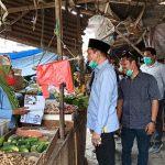 Hipni Blusukan Ke Pasar Sidomulyo, Sekaligus Serap Aspirasi Masyarakat
