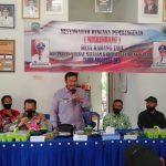 Pembangunan dibidang Insfrastruktur, skala prioritas Musrenbangdes Karang Jaya Tahun 2021
