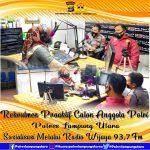 Rekrutmen Proaktif Calon Anggota Polri TA 2021, Polres Lampura Sosialisasi Melalui Radio