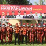 Keluarga Besar MPC Pemuda Pancasila Lampura peringati Hari Pahlawan