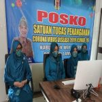 Melalui Virtual,Pjs.TP PKK Way Kanan Hadiri Pelantikan TP PKK Pusat