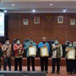 BERITA ODF 100%, Kabupaten Lampung Selatan Terbaik Ke-2 Penghargaan STBM Berkelanjutan 2020