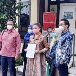 Ahmad Fatoni Dampingi Rahayu Saraswati Laporkan Pelecehan Foto 'Coblos Udelnya' ke Polres Tangsel