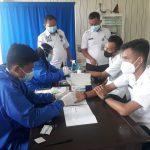 BNN Kabupaten Way Kanan Lakukan Pemeriksaan Deteksi Dini Covid-19