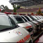 Peringati HKN ke -56 Diskes Tuba Bagikan Puluhan Ambulan
