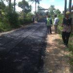 "Dinas PUPR Lamsel Diduga Tutup Mata, Pekerjaan Peningkatan jalan Desa Mulyosari ""AMBURADUL"""