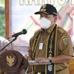 Gubernur Lampung Melakukan Launching Program Kartu Petani Berjaya