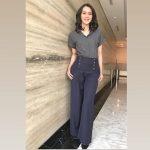 Host Cantik Fazilah Khairunnisa Ada di Bandarlampung, Ngapain?