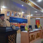 Drs. H. Lekok., M.M., Mewakili Bupati Lampura menghadiri Peringatan Hari Ibu ke-92 Tahun 2020