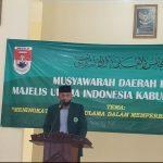 Musda MUI Mesuji Secara Aklamasi Kembali  Dipimpin Kh Hi. Chusni Fadil