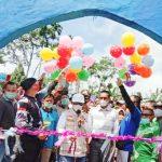Hi. Budi Utomo Resmikan Objek Wisata Water Boom Satria Fortuna di Bukit Kemuning