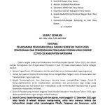 Pemkab Way Kanan Terbitkan SE Tentang Pilkada Serentak 2020,Pengendalian Penularan Covid-19