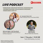 Dukung Pemerintah, Media Kata Indonesia Gelar Live Podcast Ajak Masyarakat Sukseskan Penanganan Covid-19 Lewat Protokol Kesehatan dan Vaksinasi