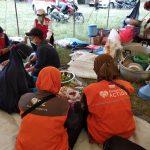 Rumah Zakat Support Dapur Umum di Posko Erupsi Gunung Api Semeru