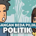Rumah tangga ambyar karena beda pilihan politik