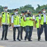 Menhub Tinjau Progres Pembangunan Bandara Ngeloram, Blora Jawa Tengah